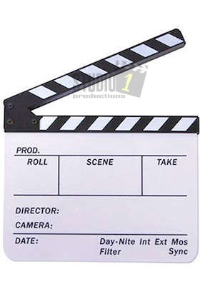 Movie Slate or Movie Clapboard
